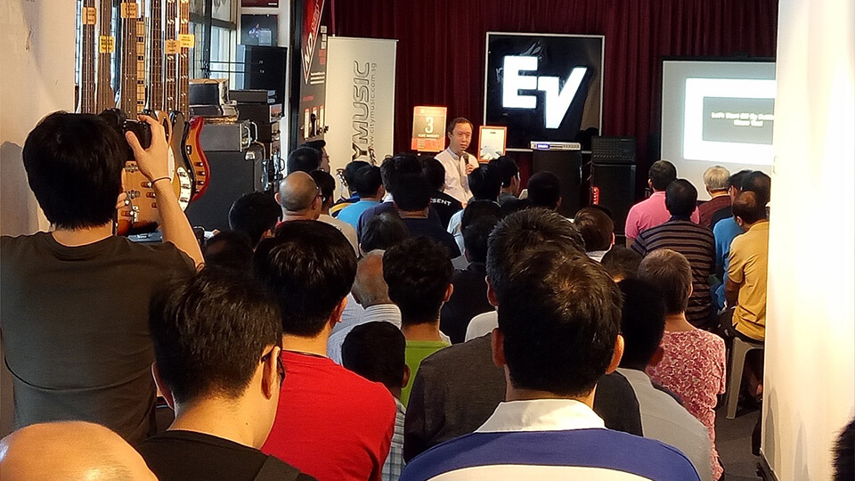 EV City Music Seminars