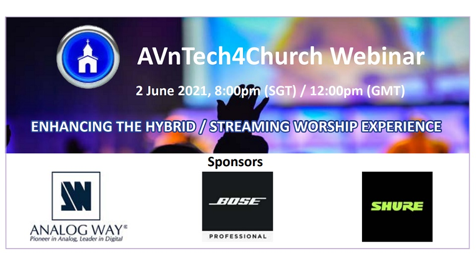 AVnTech4Church Webinar